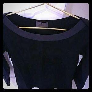 Chanel black tunic
